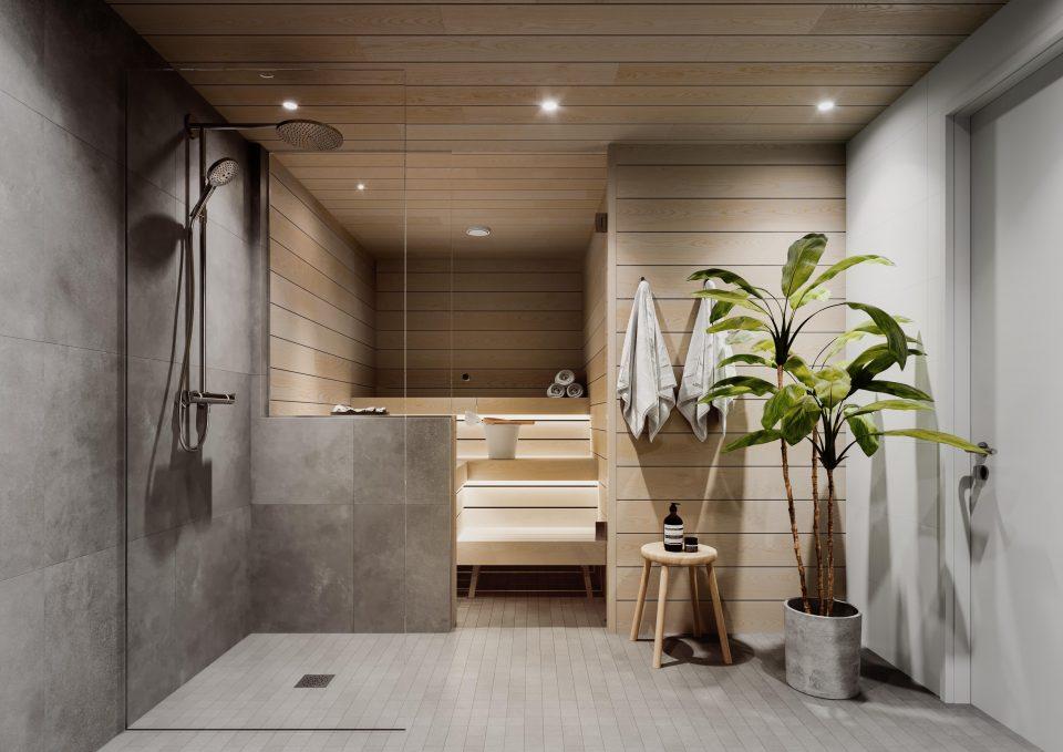 3h ja 4h kylpyhuone